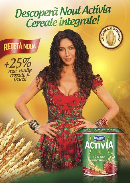 KV Relansare ActiKV Relansare Activia Cereale Integralevia Cereale Integrale