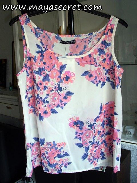 bluza cu flori