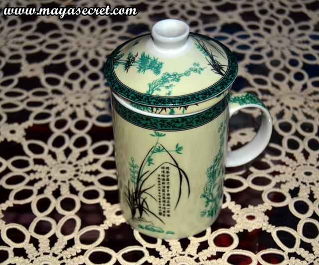 cana de ceai cu infuzor