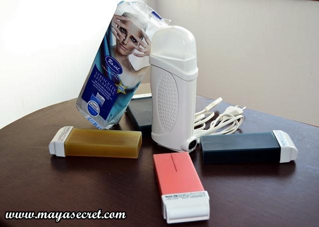 kit de epilare acasa