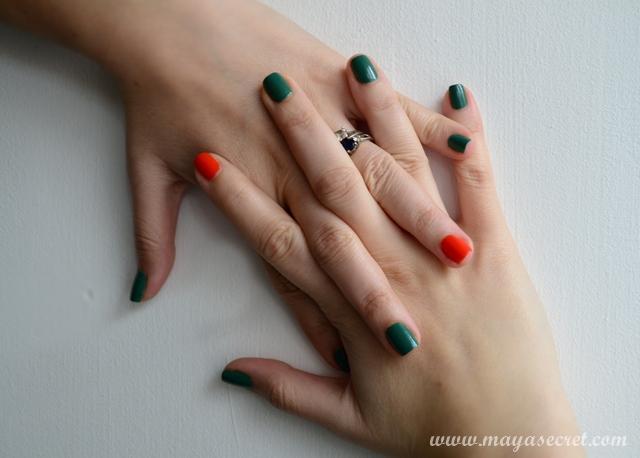 manichiura unghii mici