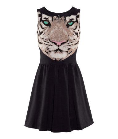 rochie tigru