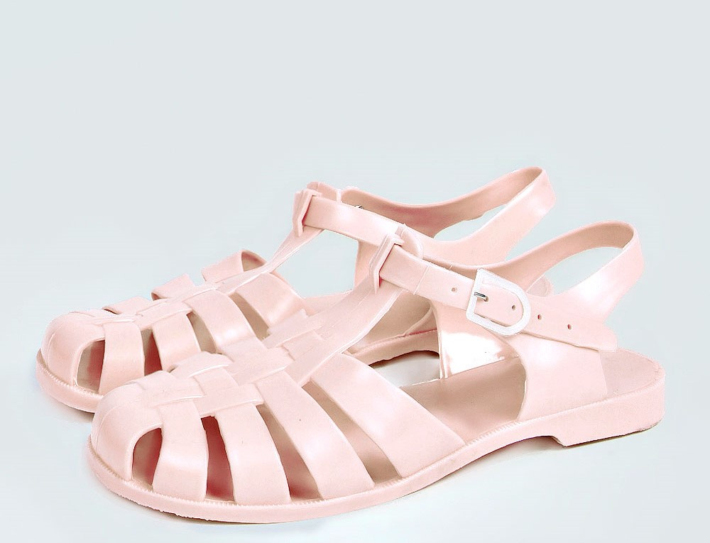sandale de plastic