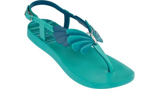 sandale turcoaz