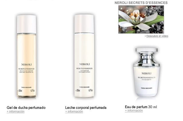 set neroli yves rocher