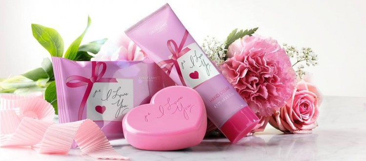 set oriflame i love you