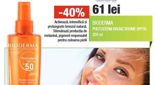 bioderma photoderm bronz brume spf 50