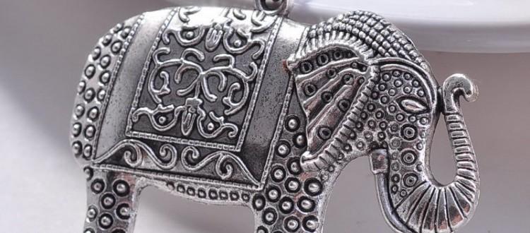 colier elefant