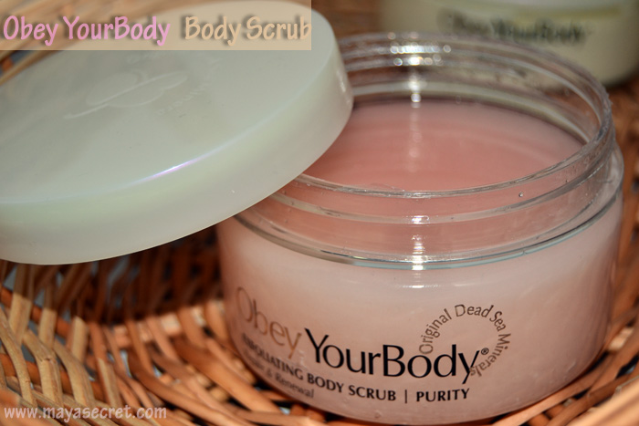 exfoliant de corp obey your body