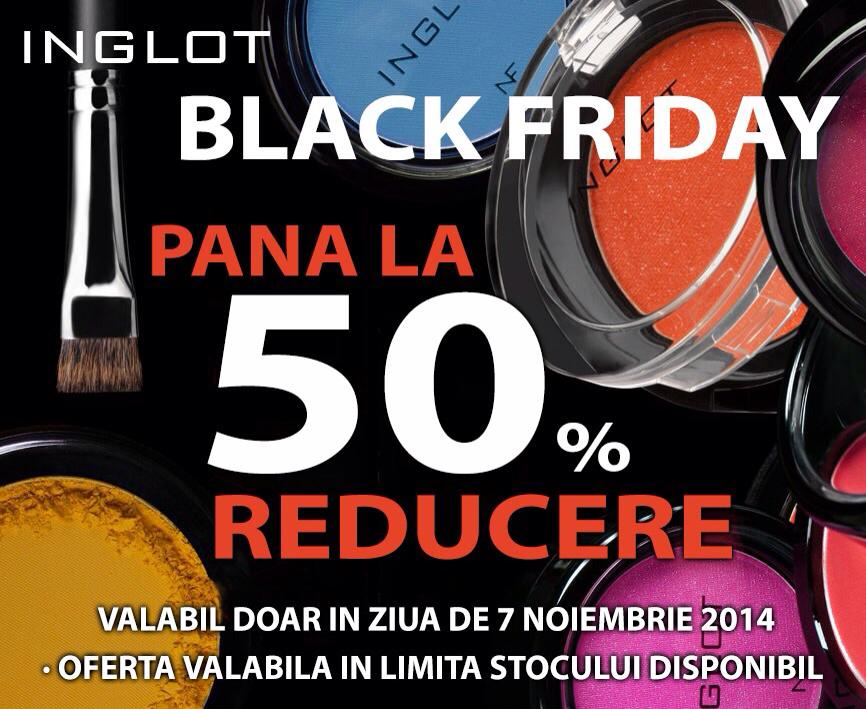 inglot black friday oferta