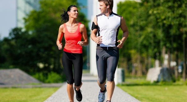 jogging prin parc