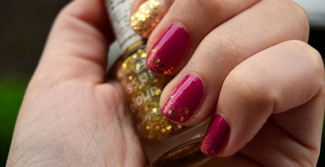 manichiura glitter