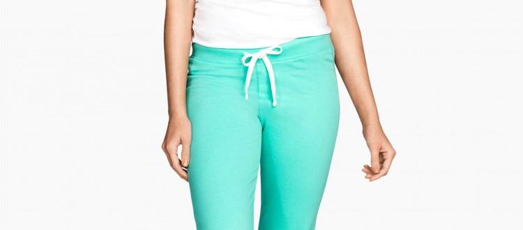 pantaloni sport h&m
