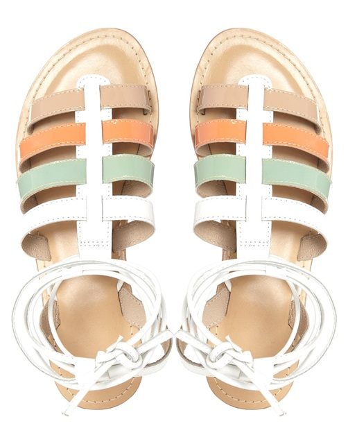 sandale colorate gladiator