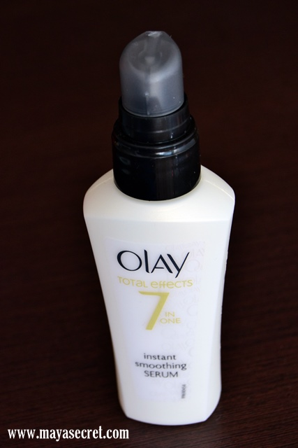 serum olay instant smoothing serum