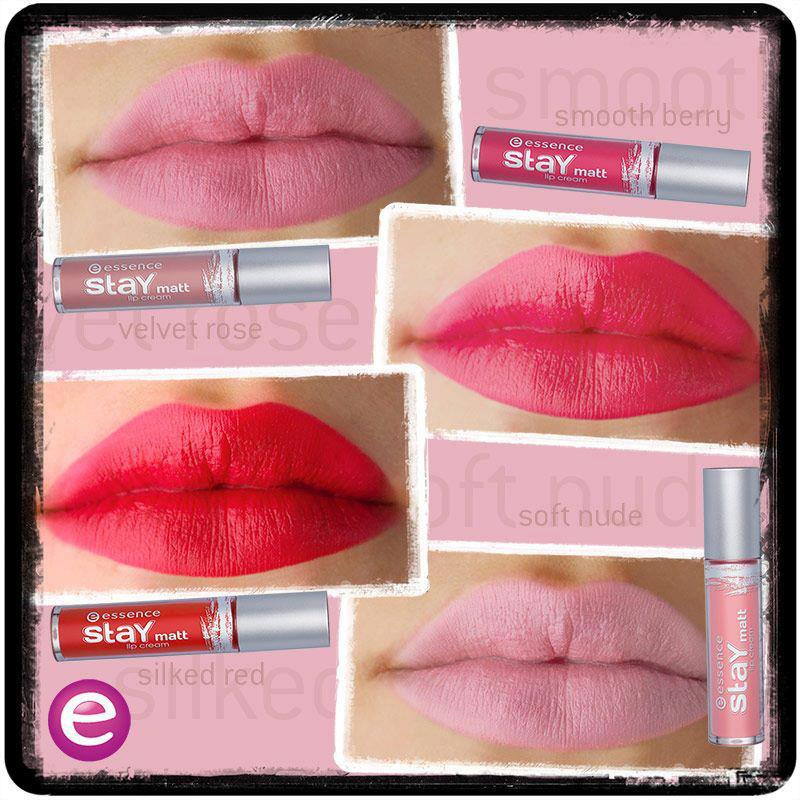 stay matt lipgloss essence