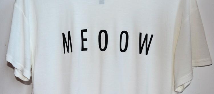 tricou-meow